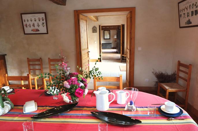 Poudenas - Le Bastion du Prince Noir - La salle à manger