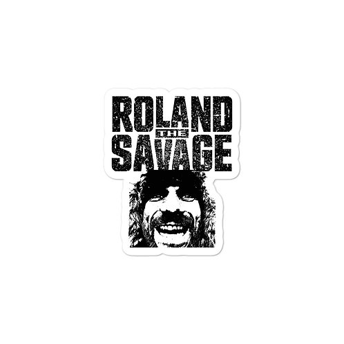Roland The Savage Bubble-free stickers