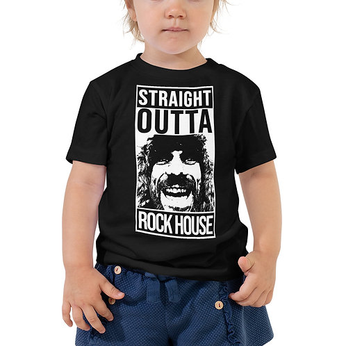 STRAIGHT OUTTA ROCK HOUSE w/ RW 100 DAY KING Toddler Short Sleeve Tee