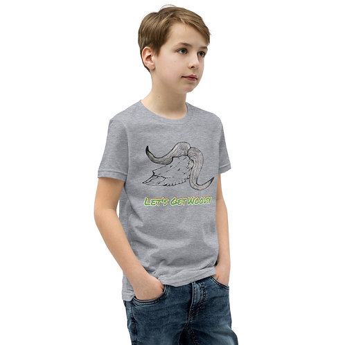 Let's Get Woodsy Musk Ox Youth Short Sleeve T-Shirt