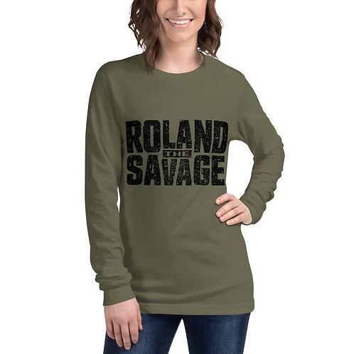Roland The Savage Unisex Long Sleeve Tee