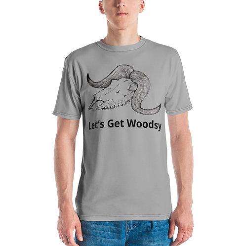 Let's Get Woodsy Muskox Men's Crew Neck T-Shirt