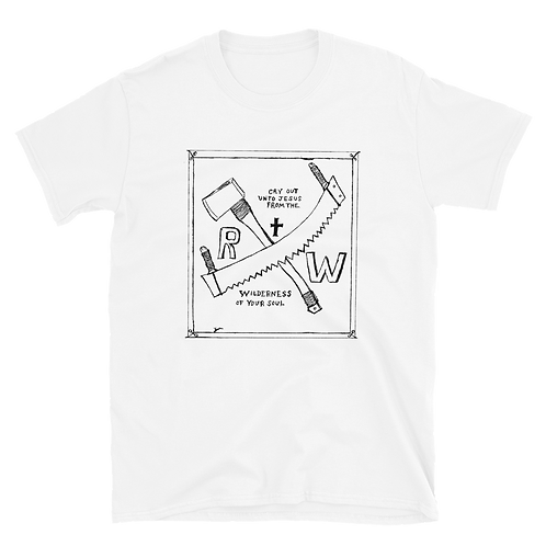 RW Saw and Ax-Short-Sleeve Unisex T-Shirt