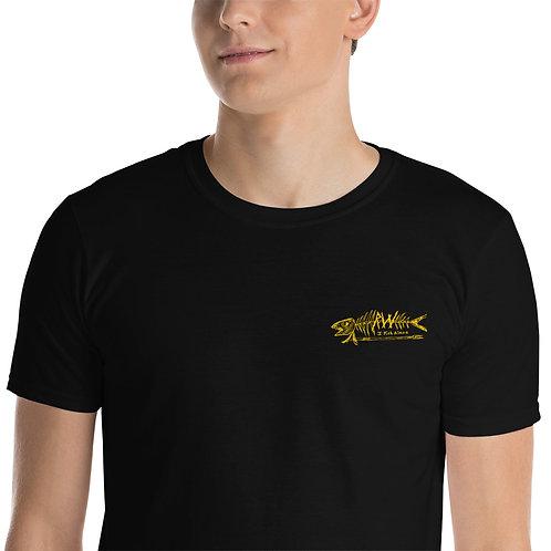 I FISH ALONE Short-Sleeve Unisex T-Shirt
