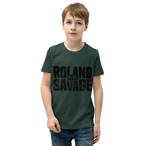 Roland The Savage Youth Short Sleeve T-Shirt