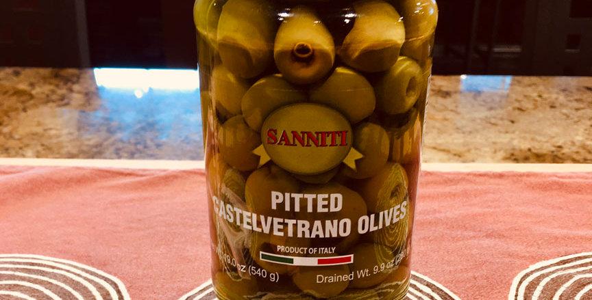Castelvetrano Olives, Pitted (19oz jar)