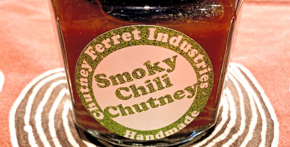 Smoky Chili Chutney, Chutney Ferret Industries