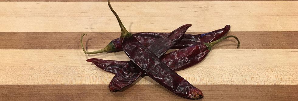 Chili Guajillo, Whole (per lb)