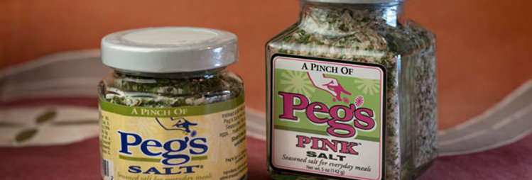 Peg's Salt, regular (7.5oz jar)