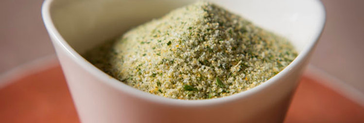 Garlic and Parsley Sea Salt (per oz)