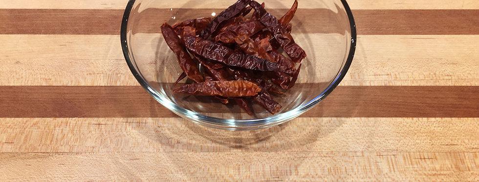 Chili De Arbol, Whole (per doz)