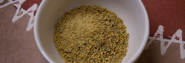 Dill Pollen, Wholesale (per oz)