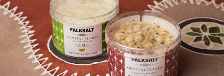 Lime Crystal Flakes (Falksalt 4.4oz tub)