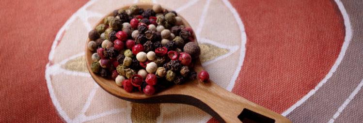 Peppercorns, Four Mix (per oz)