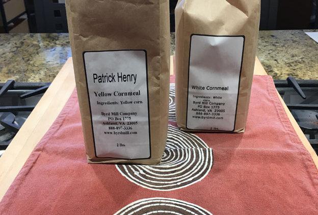 Patrick Henry White Cornmeal, Byrd Mill (2lb bag)