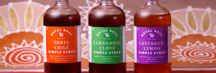 Royal Rose Simple Syrups