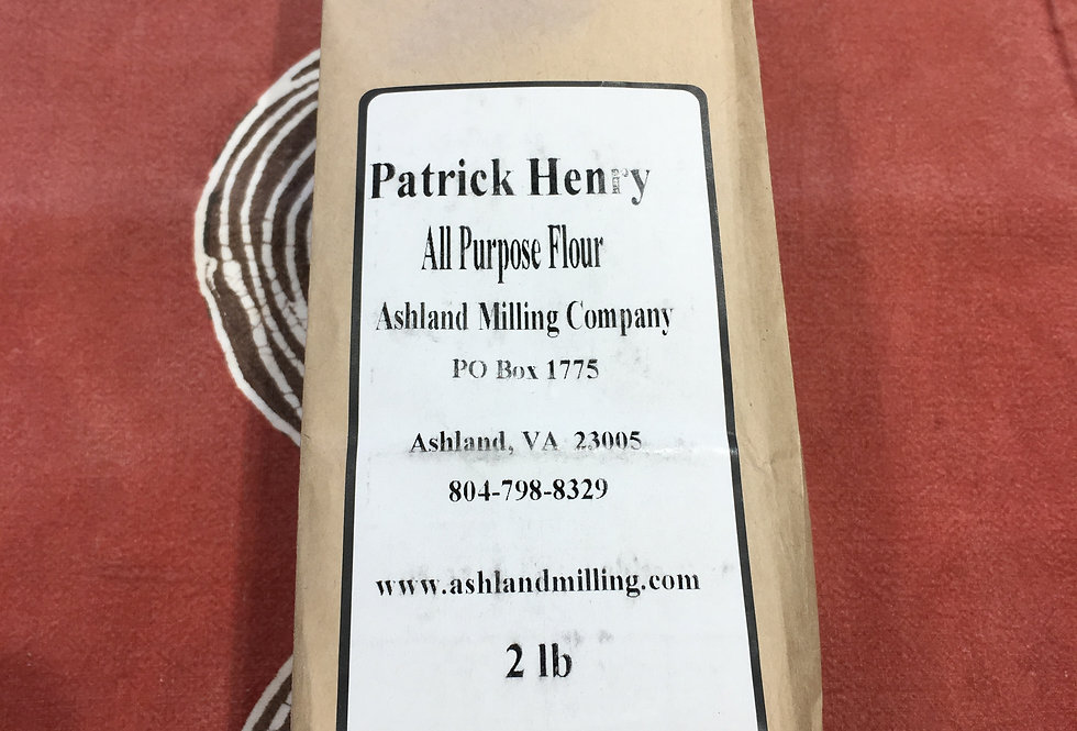 Patrick Henry All Purpose Flour, Byrd Mill (2lb bag)