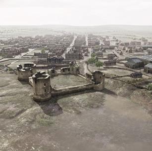 Flint Town View 1905