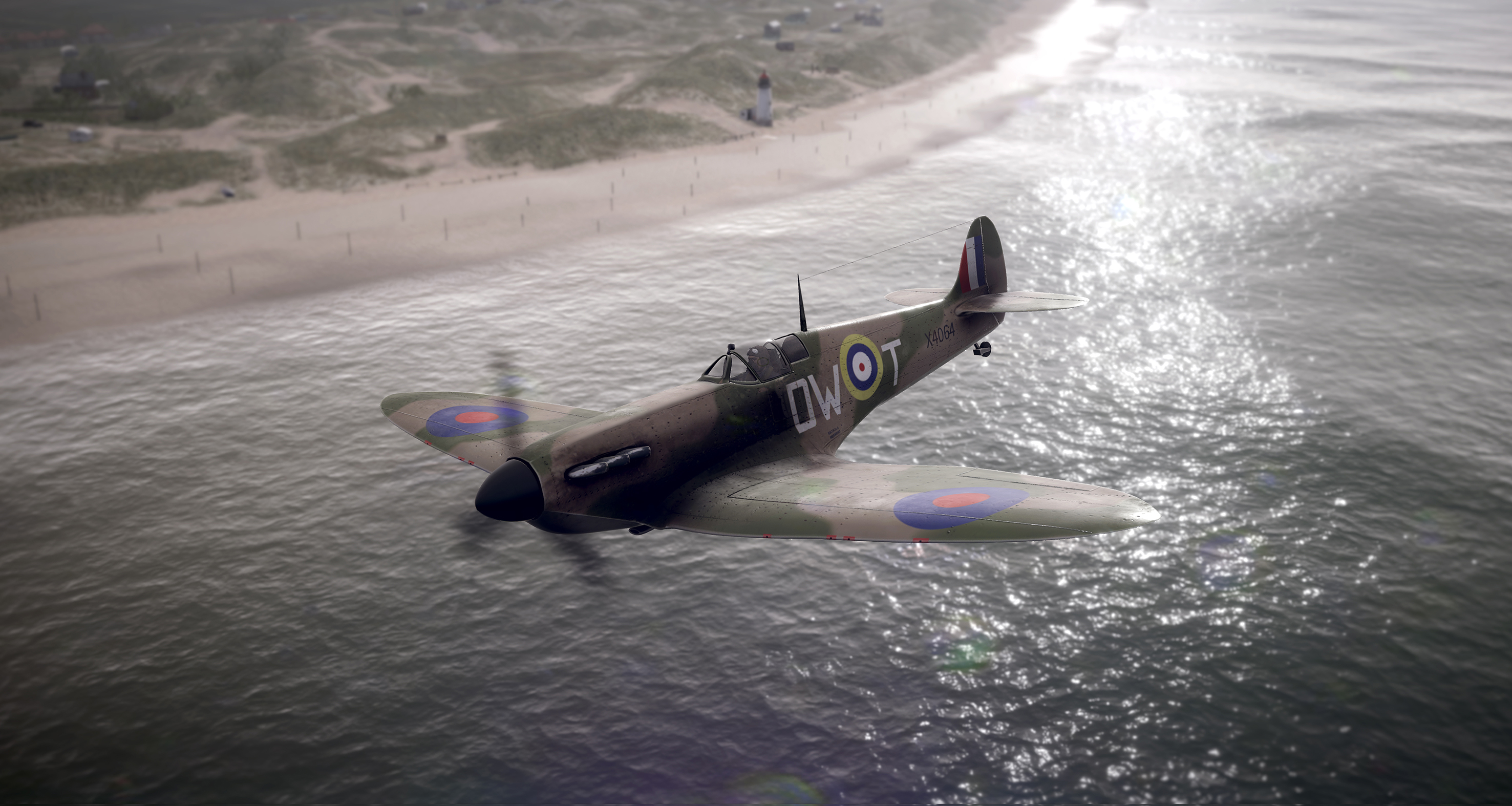SPITFIRE OVER TALACRE - Copy
