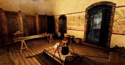 Ewloe Castle Interior 13th Century
