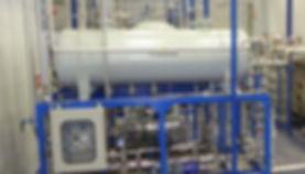 Gas separator unit