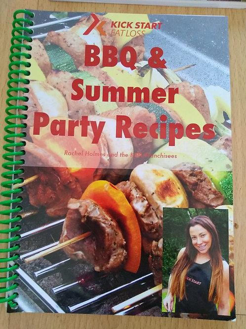 BBQ Summer Recipe Book