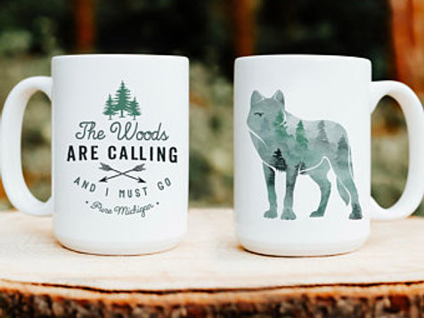 Camping Coffee Mug by Brush & Timber