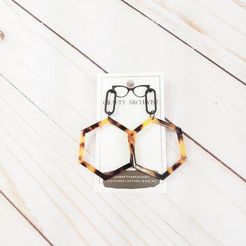 Modern Hexagon Hoop Tortoise
