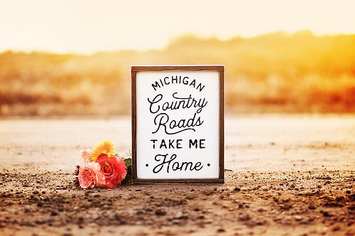 Michigan Country Roads by Brush & Timber