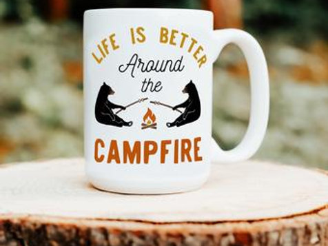 Campfire Mug by Brush & Timber