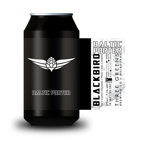Blackbird Baltic Porter 6-pack 6x375mL Cans
