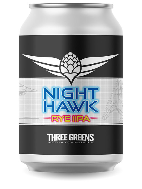 Night Hawk Rye IIPA 4-pack x 355mL Cans