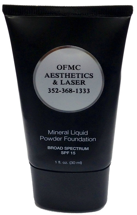 OFMC Mineral Liquid Powder Foundation SPF-15