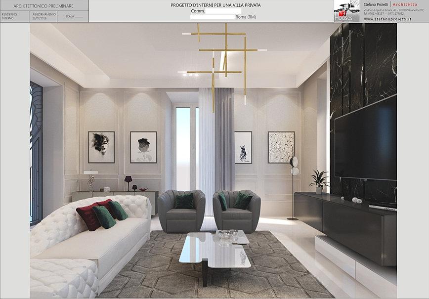 Stefano proietti architetto e interior design terni for Roma interior design