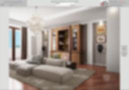 divano centrale interior design_architetto interni roma | lazio