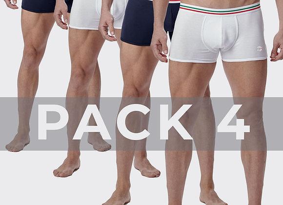 Pack 4 Boxers Maniere Italiane