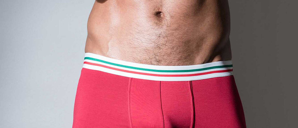 Boxer Rouge Maniere Italiane