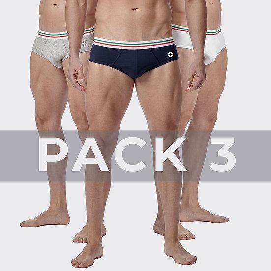 Pack 3 Slip Maniere Italiane