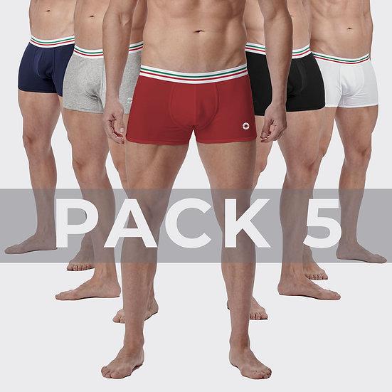 MI Pack 5 Boxer Briefs