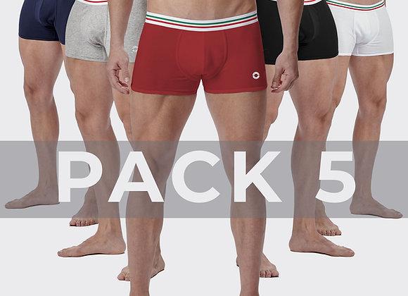 Pack 5 Boxers Maniere Italiane