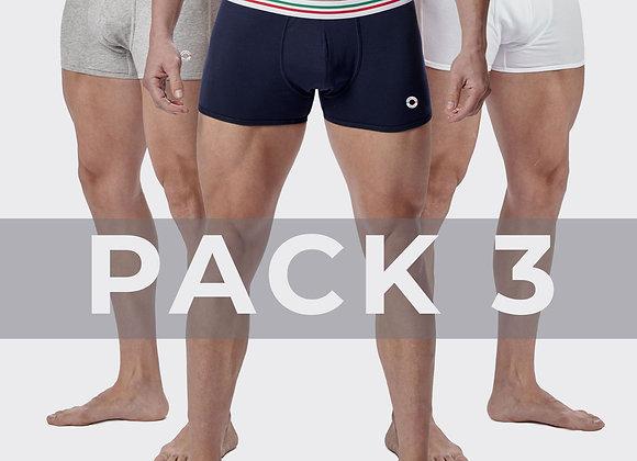 Pack 3 Boxers Maniere Italiane