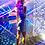 Thumbnail: Vestido elektra paiette turquesa
