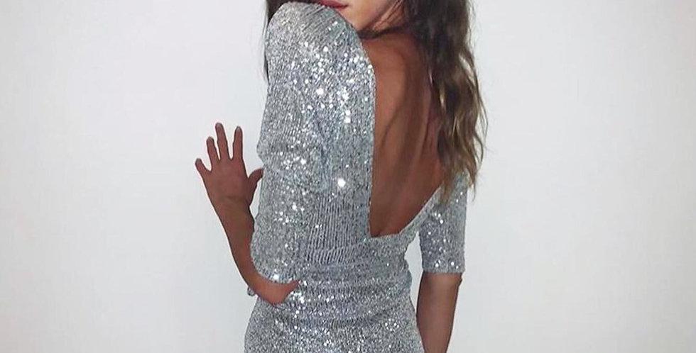 Vestido Aura lentejuelas