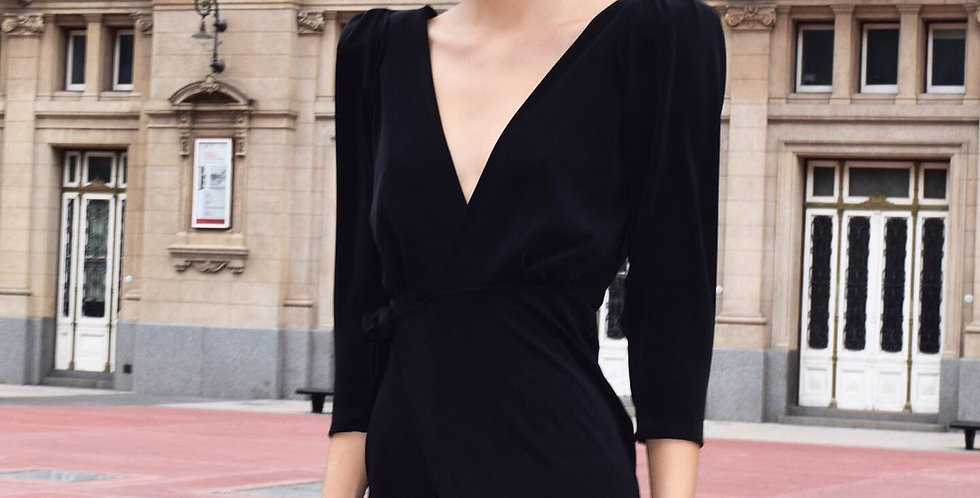 Vestido Gaia negro