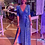 Thumbnail: Vestido Aura largo celeste