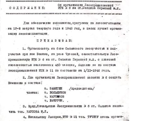 Книга «ПЕРМЬ-36. ПРЕДЫСТОРИЯ». Документы