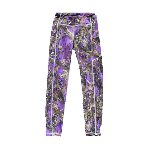 Violet Forest Icecap Leggings Textured