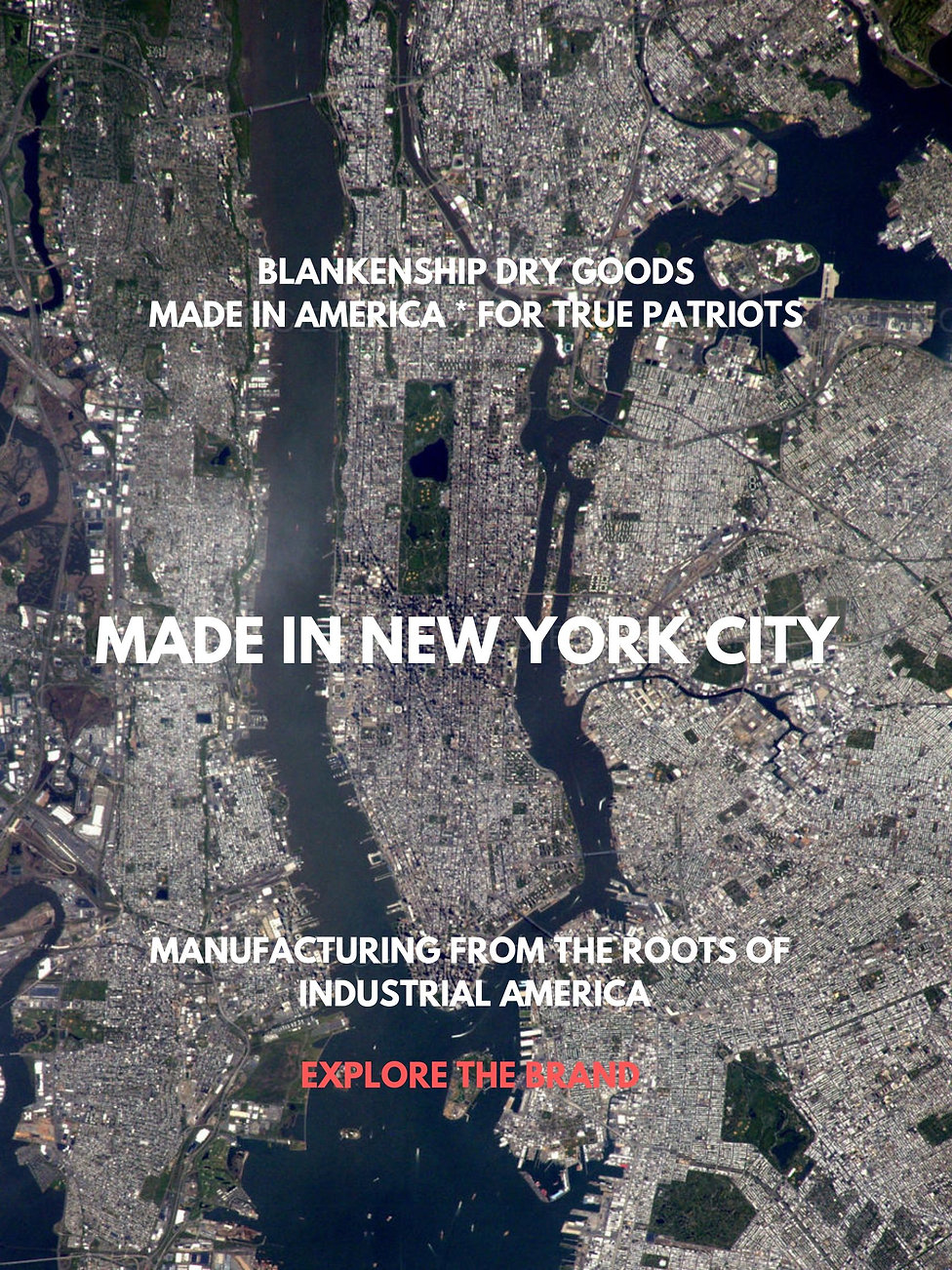 BLANKENSHIP DRY GOODS MADE IN AMERICA _