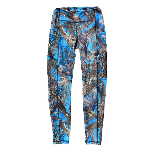 Cobalt Woodland Icecap Leggings Textured