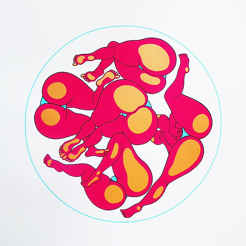Sights of the Round Table Screen Print
